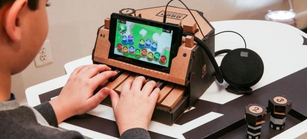 Nintendo Labo está entre los mejores inventos del año según <em>TIME</em>