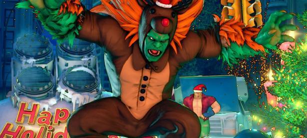 Así lucirán los nuevos trajes navideños de <em>Street Fighter V</em>