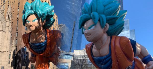 Gokú recorrio las calles de Nueva York en la Thanksgiving Parade
