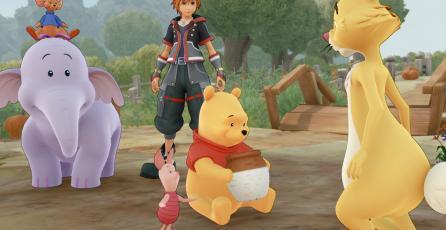 En China censuraron imágenes de Winnie The Pooh en <em>Kingdom Hearts III</em>