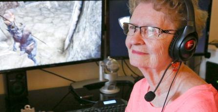 Petición para inmortalizar a anciana de 82 en nueva entrega de Skyrim