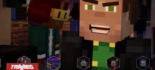 Netflix agrega <em>Minecraft: Story Mode</em> a su catálogo como aventura interactiva