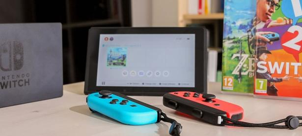 Ventas de Switch se dispararon en la reciente temporada de ofertas