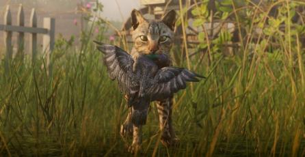 Fanáticos de Red Dead Redemption 2 molestos por no poder adoptar gatos