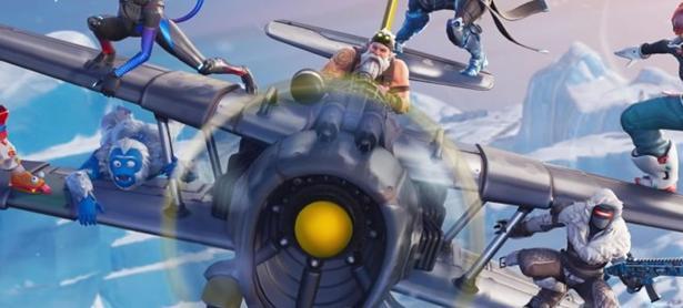 El invierno y un nuevo vehículo aéreo llegan a <em>Fortnite</em>
