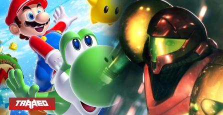 Nintendo reestrenaría en Switch Super Mario Galaxy y Metroid de Wii