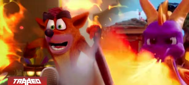 Activision confirma trilogías de Spyro y Crash Bandicoot en un bundle de venta único