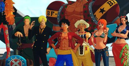 Checa el increíble opening de <em>One Piece: World Seeker</em>