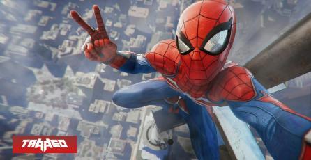 Jugador crea cómic dentro del videojuego Spider-Man