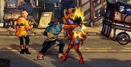 Checa las nuevas capturas de <em>Streets of Rage 4</em>