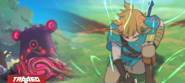 """Fanático crea """"serie animada"""" de <em>Breath of The Wild</em> que Nintendo jamás hizo"""