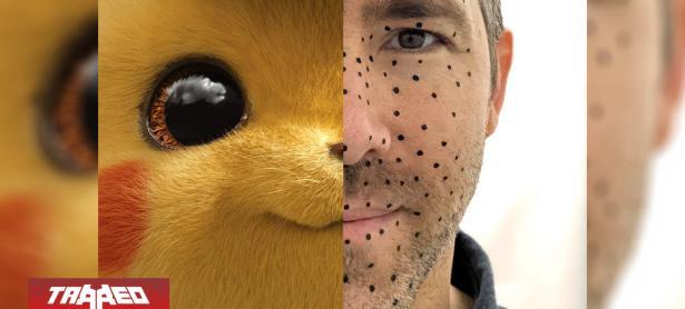 Ryan Reynolds se vuelve viral en su interpretación como Detective Pikachu