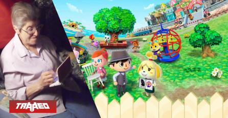 Abuela de 87 años ha jugado por 3580 horas Animal Crossing: New Leaf