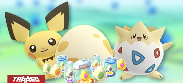 Vive el primer evento de Pokémon GO del año: Eclosionatón de la función Sincroaventura