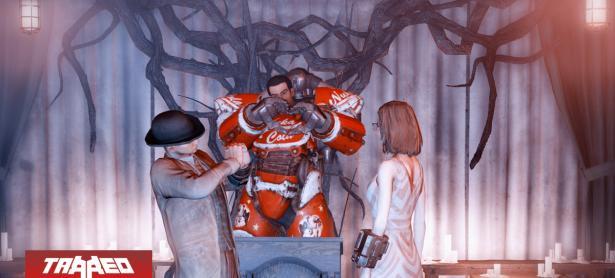 Jugadores de Fallout 76 organizaron su boda dentro del juego