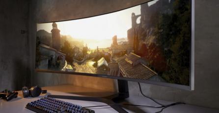 Samsung lanzará un monitor ultraancho ideal para gamers