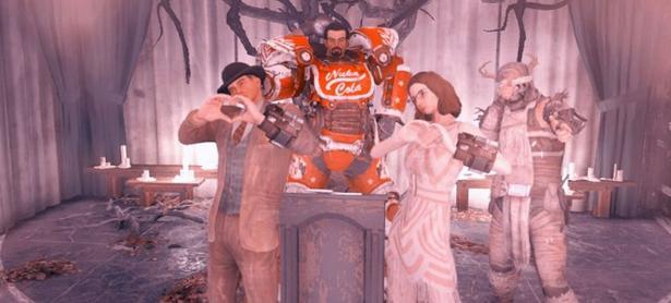 Pareja de jugadores tuvo una boda virtual en <em>Fallout 76</em>