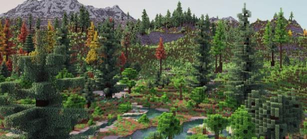 Jugador de Minecraft crea un mundo más natural y realista dentro del juego