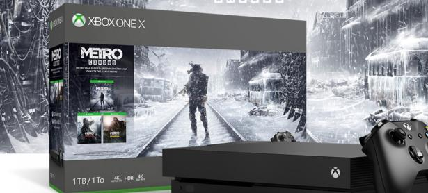 Este bundle de Xbox One X incluirá <em>Metro: Exodus </em>y entregas pasadas