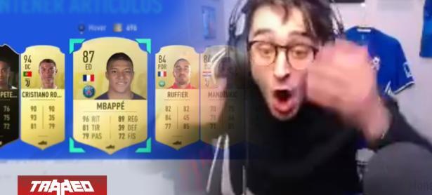YouTuber se viraliza tras vender por error a 'Ronaldo' y 'Mbappé' en FUT