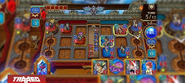 Final fantasy tendrá un juego de cartas digitales para móviles y PC