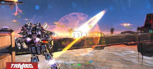 Mech Tech Fighters llegará a consolas como Xbox One, PS4 y Switch en abril
