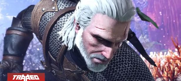 Geralt de Rivia llegará a Monster Hunter World a principios de febrero