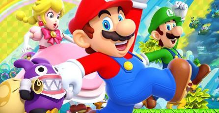 <em>New Super Mario Bros. U Deluxe</em> triunfa en Reino Unido