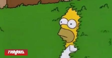 Homero atentó contra la 4ta pared usando un meme suyo en el programa