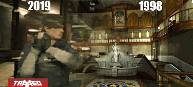 <em>Resident Evil 2 Remake</em> luce casi idéntico a su versión de PS1 con sus gráficos al mínimo