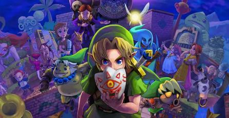<em>The Legend of Zelda: Majora's Mask 3D</em> se une a la línea Nintendo Selects