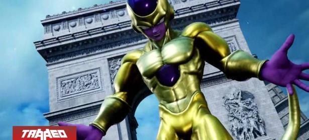 Nuevo gameplay muestra como se verá Freezer dorado y al 100% de poder en Jump Force