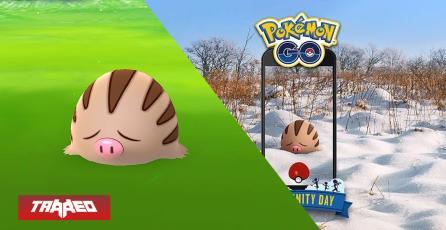 Pokémon GO: Día de la comunidad de febrero tendrá a Swinub de protagonista