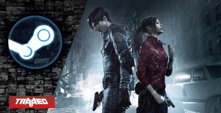 Resident Evil 2 se convierte en el segundo juego más jugado en Steam de Capcom