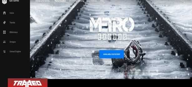 Metro Exodus será un exclusivo de Epic Games Store y no se estrenará en Steam