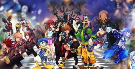 Resumen de la historia de <em>Kingdom Hearts</em>