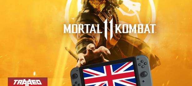 El estreno de Mortal Kombat 11 se retrasará en la tienda oficial de Nintendo UK hasta el 10 de mayo