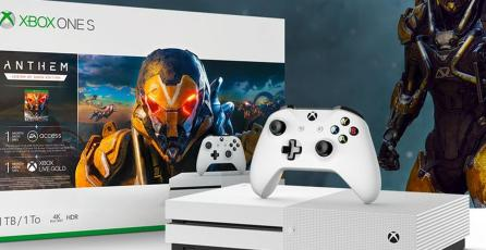 Habrá un bundle de Xbox One S con <em>Anthem</em>