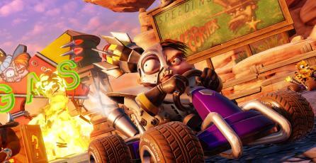 <em>Crash Team Racing Nitro-Fueled</em> luce asombroso en su nuevo avance