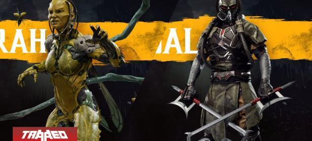 Hoy se confirmaron a D'Vorah y Kabal en Mortal Kombat 11 con un violento trailer