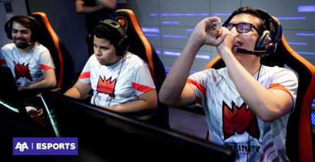 Infinity Esports ha completado una ronda coronándose invictos en la nueva LLA