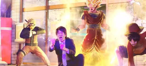 Con este divertido trailer live-action promocionan <em>Jump Force</em> en Japón