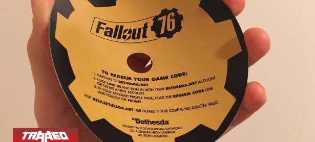 Fallout 76 aparece en Europa como regalo en los discos duros, para poder deshacer existencias
