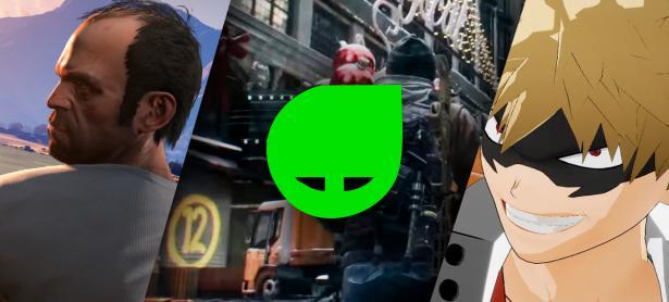 Aprovecha GTA V, My Hero One Justice y The Division hasta con un 91% de descuento