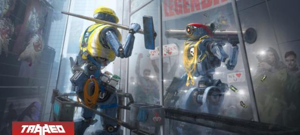 Jugadores de Apex Legends inician petición para agregar aspecto de Chappie para Pathfinder