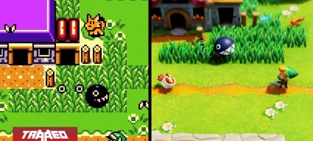 ¿Cuál es mejor? Así se ve el original Zelda: Link's Awakening versus su remake