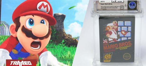 Por más de 100.000 dólares se vendió una copia sellada de Super Mario Bros.