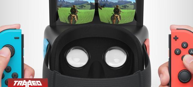 Nuevo posible kit de Labo tiene más pistas: Nintendo transformará Switch en una consola VR