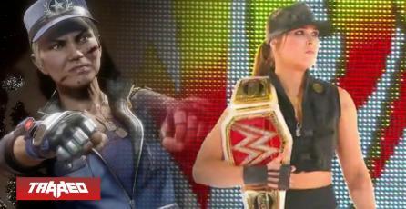 Ronda Rousey soprende vestida de Sonya Blade en el 'Elimination Chamber' de la WWE