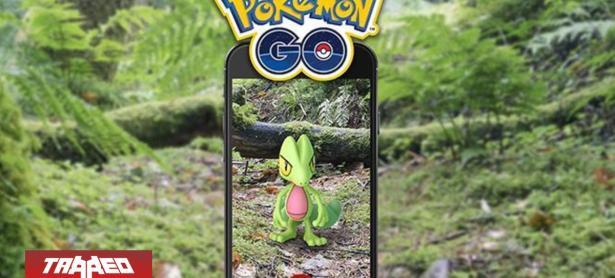 Pokémon GO: Community day cambia de horario y Treecko protagoniza el próximo evento